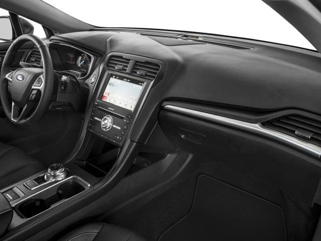 2017 Ford Fusion Titanium Clarksville Tn Area Toyota